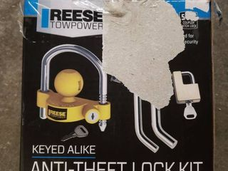 Reese Towpower Tow and Store Anti Theft lock Kit
