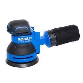 Kobalt 24 Volt Random Orbital Sander  Tool Only