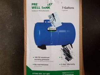 A O  Smith 7 3 Gallon Horizontal Pressure Tank