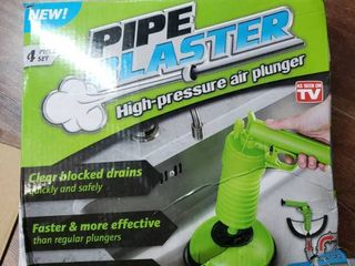 Pipe Blaster High Pressure Air Plunger