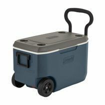 Coleman 62 Quart Xtreme 5 Day Heavy Duty Cooler with Wheels  Slate