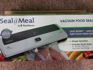 Seal a Meal Vacuum Food Sealer by FoodSaver