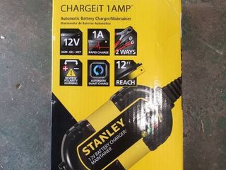 STANlEY 1 Amp Automatic Battery Maintainer  BM1S