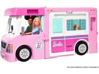 Barbie 3 in 1 Dream Camper Playset
