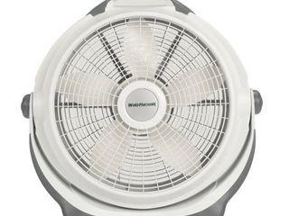 lasko 20in Air Circulator Wind Machine  3 Speed Fan