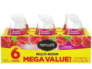 Renuzit Adjustable Cone  Raspberry Scented   6 ct