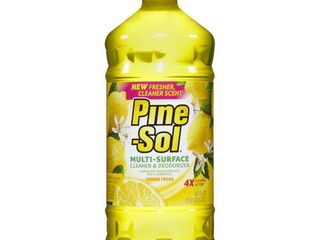 Pine Sol All Purpose Cleaner   lemon Fresh   60oz