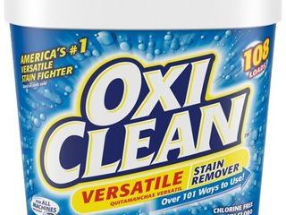 OxiClean Versatile Stain Remover Powder  5 lbs