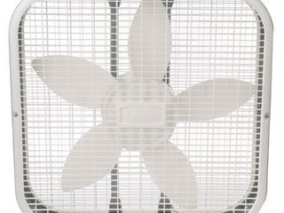 lasko 20  Box 3 Speed Fan  Model  B20200  White