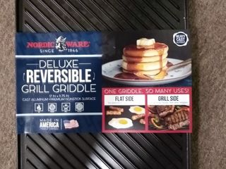 Nordic Ware Deluxe Reversible Grill Griddle