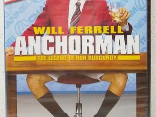 Anchorman  The legend of Ron Burgundy  DVD