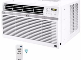lG Electronics Energy Star 8 000 BTU 115V Window Mounted Air Conditioner with Wi Fi Control