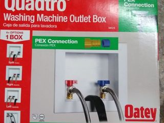 oatey company 38528 Quadtro  Washing Machine Outlet Box
