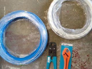 PEX Tool Kit  Cutting Tool  Crimper  and Hose