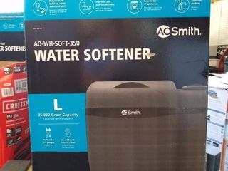 A O  Smith 35000 Grain Water Softener