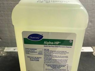 DIVERSEY AlPHS HP MUlTI SURFACE DISINFECTANT ClEANER