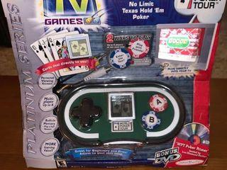 World Poker Tour Plug and Play TV Game location Mantel