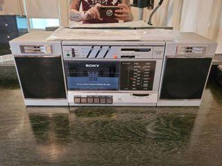 Sony FM AM CFS 3000 Boombox