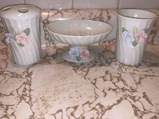 Cute Floral 3 Piece Bathroom Set location Bathroom