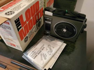 GE Power Portable Sound 8 Track Tape Player  Tested and Working