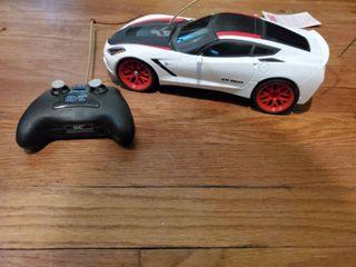 RC NewBright Corvette  Untested  Needs Batteries