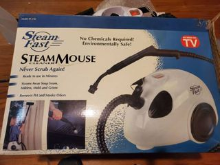 Steam Fast Steam Mouse Cleaner   Powers On