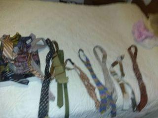 lot Of Various Vintage Cool Ties