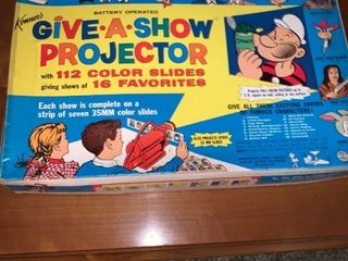 Kenner Battery Operated Give A Show Projecter location lR