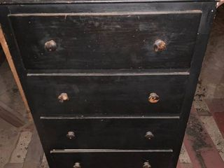 Antique Dovetailed Chest of Drawers location Upstairs