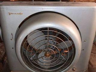 Antique Vornado 3 Speed Swiveling Window Fan Tested Working location Upstairs