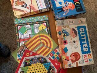 lot of Vintage Childrens Games location lR
