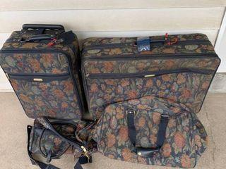 Five Piece Set of Jaguar luggage location Spare