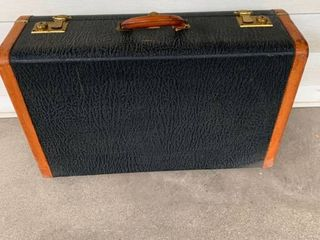 Nice Warren leather Suitcase location Spare