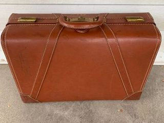 Cool leather Suitcase location Spare