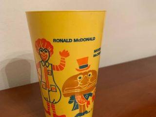 Vintage McDonalds Plastic Happy Meal Cup location Kitchen