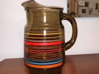 Retro Glass Pitcher location DR Table