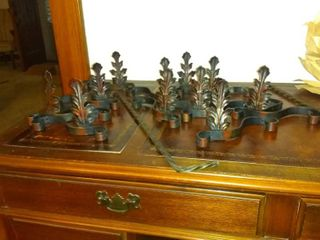 lot Of Vintage Decorative Wrought Iron Accessories