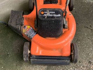 Black and Decker 18 Inch Flip Over Handle Electric lawn Mower