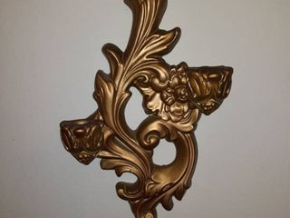 Pair of Candle Holding Wall Sconces