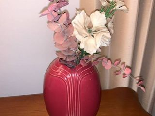 Plum Colored Vase Location Mantel
