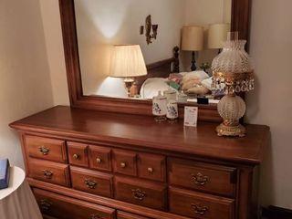 Basset Dresser with Mirror