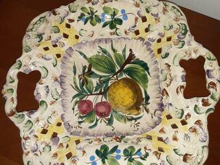 Decorative Handpainted Candy Dish