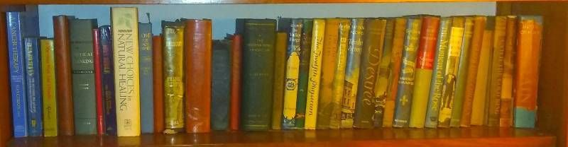 lot Of Varying Books On A Multitude Of Topics
