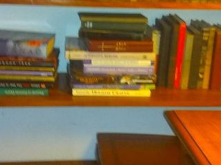 lot Of Different Books On Various Topics