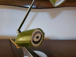 Vintage Hamilton Avocado Green lamp  tested and Working