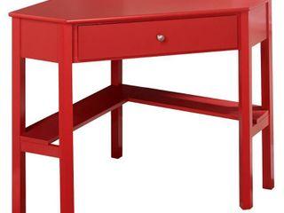 Ellen Corner Desk Red   Buylateral