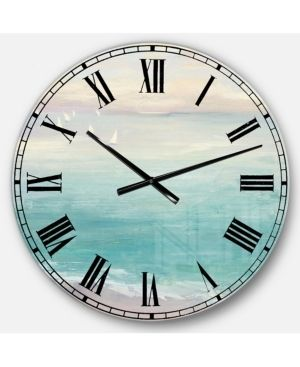 Designart  From the Shore  Traditional large Wall Clock  Retail 133 99