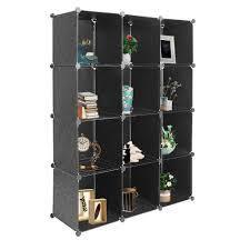 12 Cube Closet Organizer Shelves 2 Style