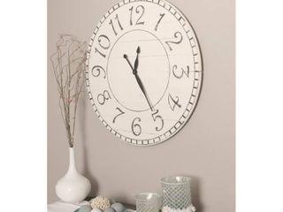 Oversized Farmhouse Wall Clock  Retail 164 99