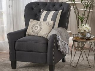 Cerelia Tufted Fabric Recliner by Christopher Knight Home   Retail 401 49